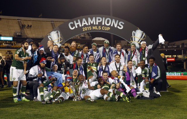 El Portland Timbers se proclamó campeón de la MLS.