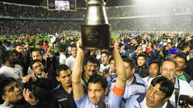 Bolivar campeón del Clausura 2015.