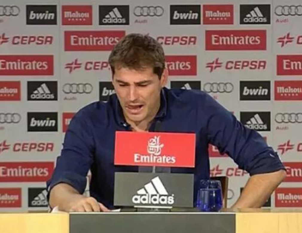Solo, Casillas and fired after years of service to the club.