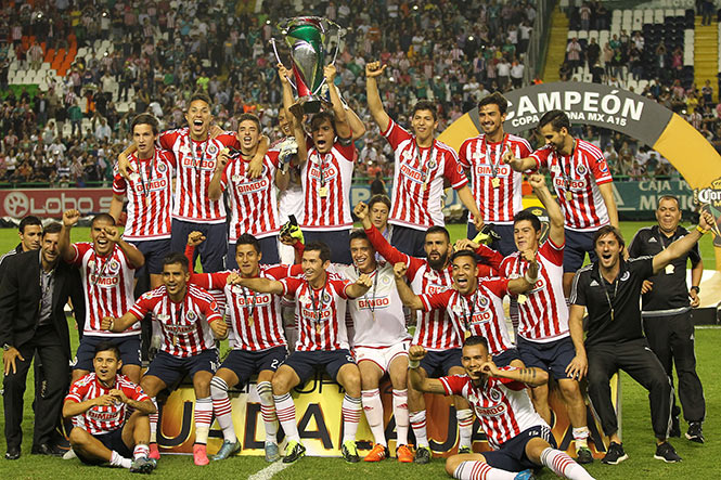 Chivas ganó la Copa MX 2015.