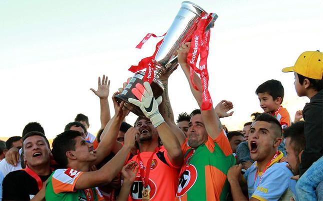 Cobresal ganó el Clausura 2015 en Chile.