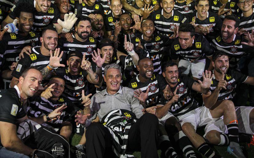 Corinthians fue campeón de Brasil en 2015.