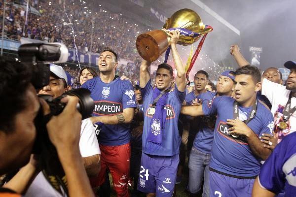 Emelec ganó la liga en Ecuador en 2015.