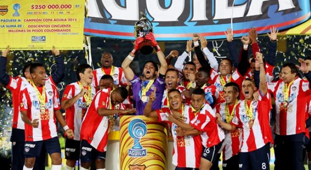 Junior ganó la Copa de Colombia 2015.