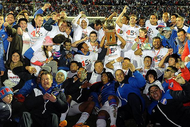 Nacional campeón de Uruguay en 2015.