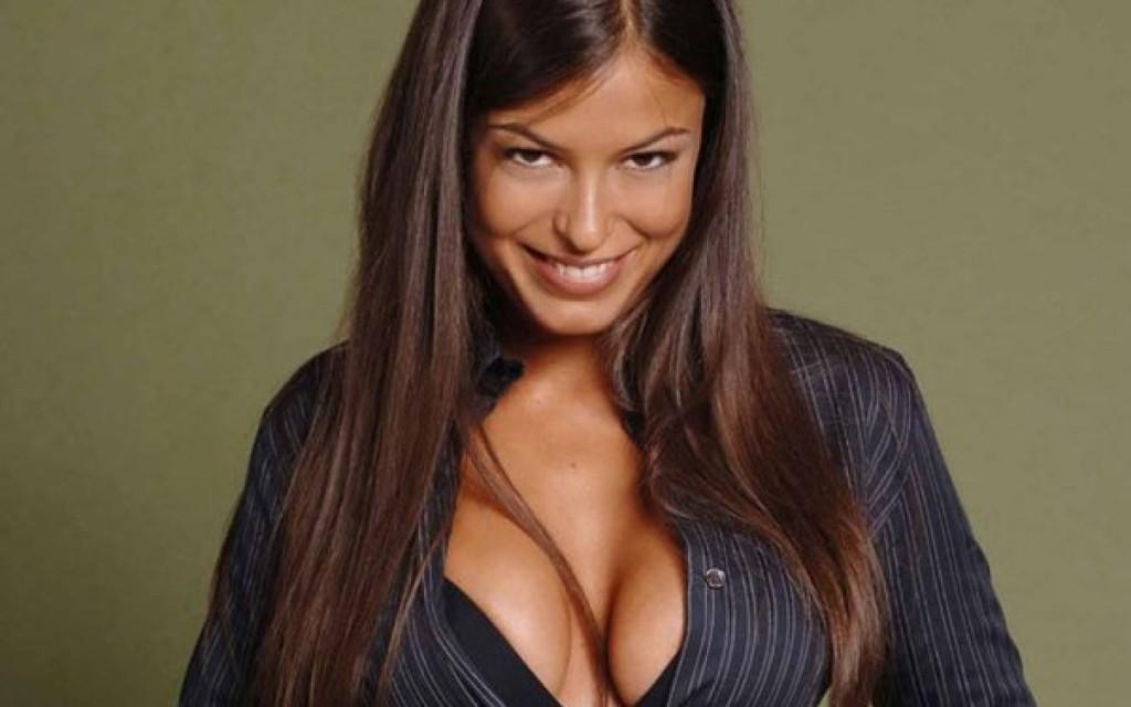 La actriz porno Sara Tomassi