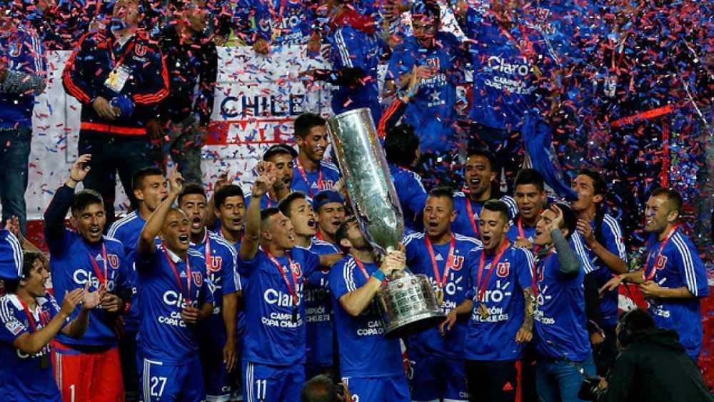Universidad de Chile se proclamó campeón de la Copa chilena de 2015.