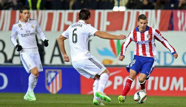 Hernandez in the Cup tie last year against Real Madrid.