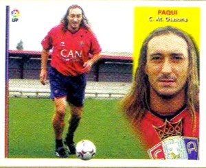 Paqui image was far from being a footballer today. But he did that picture and that chromium was rested.