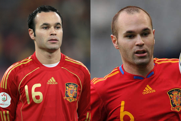 Iniesta had hair when they do not. While it is aiming clear ways.