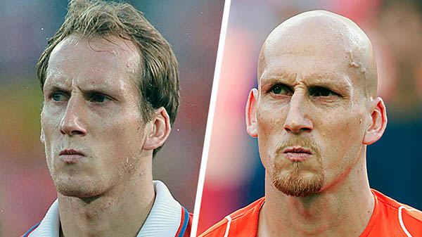 The legendary hair Stam had ever.