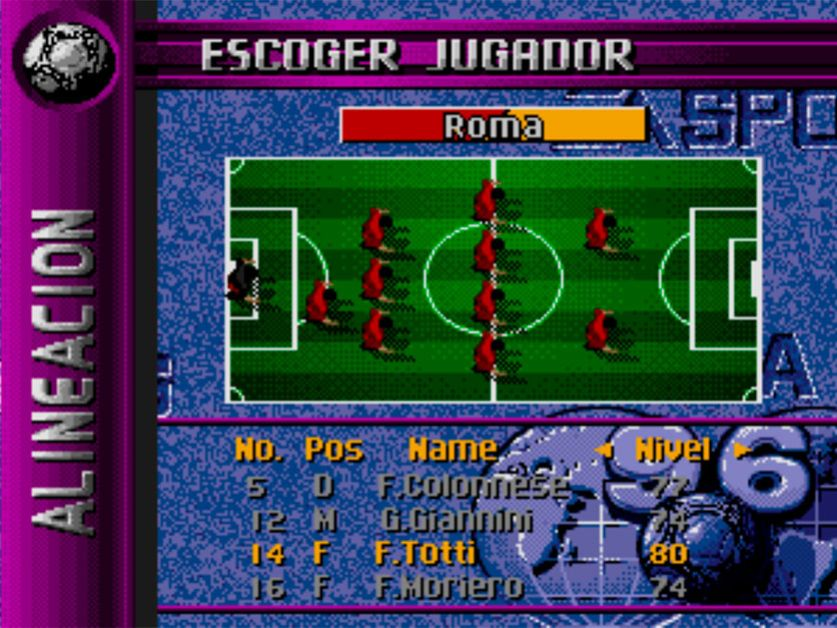 Totti ya estaba en el FIFA 96