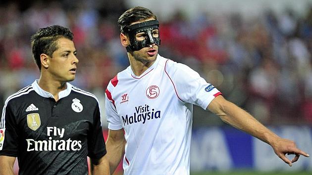 futbolistas que llevaron mascara