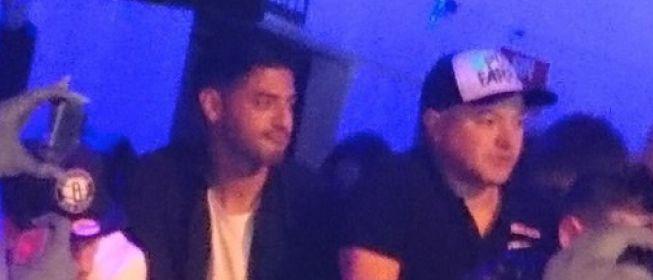 Vela fue pillado en un concierto tras coger un avión después del partido ante el Levante.