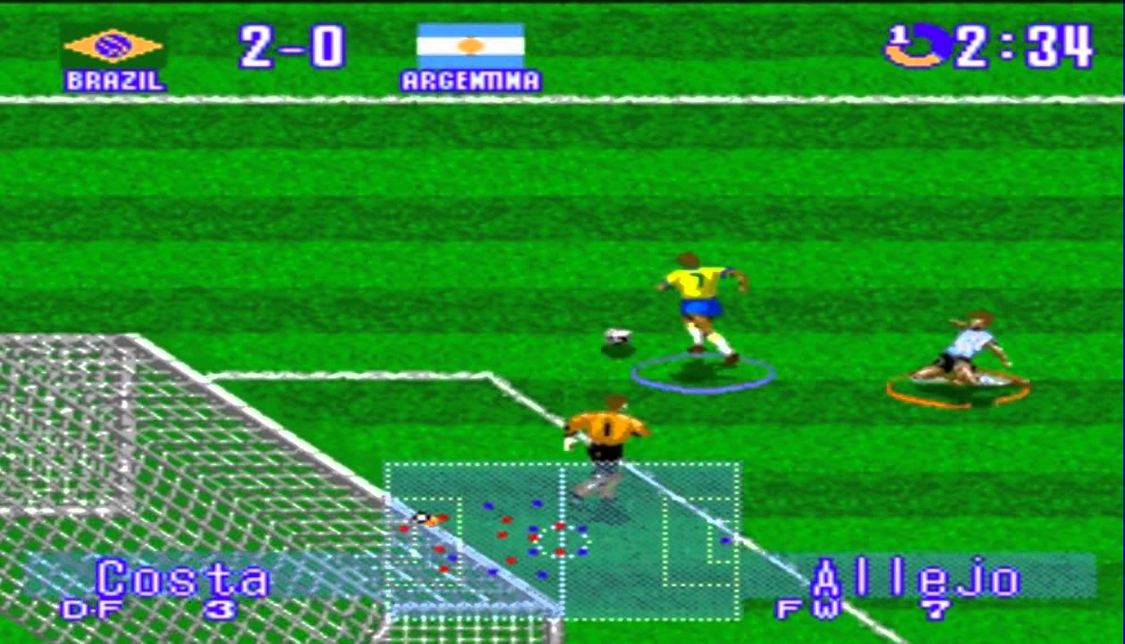 Five retro football game
