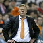 That season Valencia with Ronald Koeman