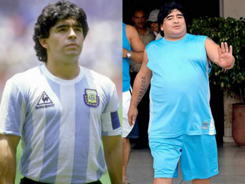 players who gained weight