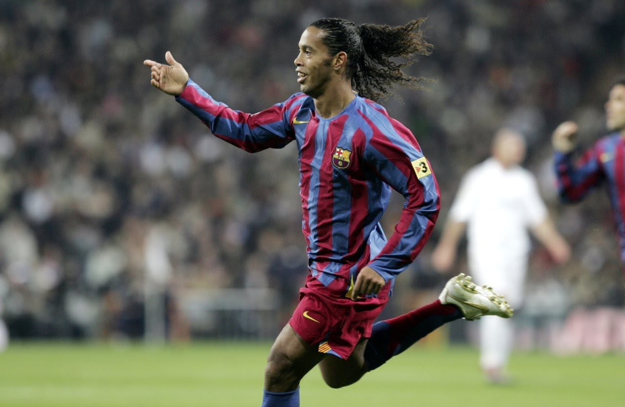 How good was Ronaldinho!