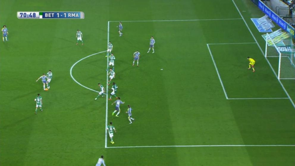 James also scored in clear offside.