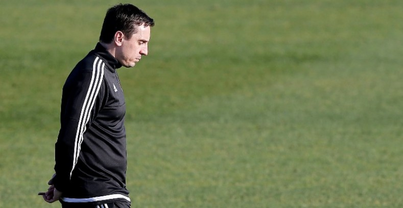 Neville has been one of the worst coaches in the history of Valencia.