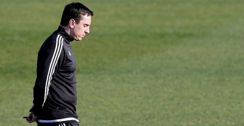 Neville ha quedado como uno de los peores entrenadores en la historia del Valencia.