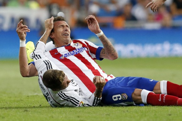 Ramos Madzukic attacked without consequences.