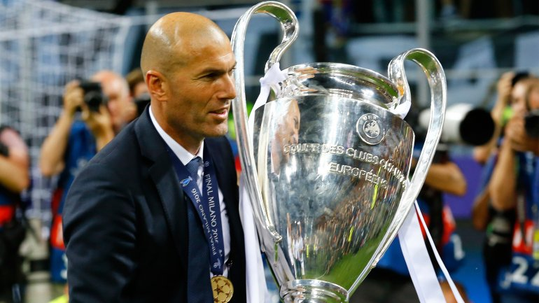 Is it Zidane remain the coach of Real Madrid?