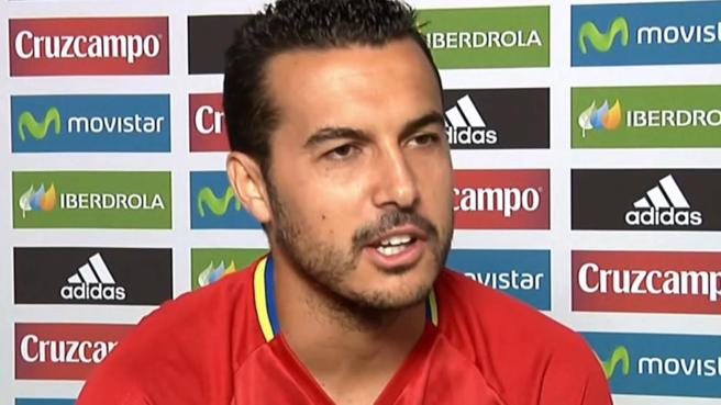 Pedro pounces to Spanish football with his statements