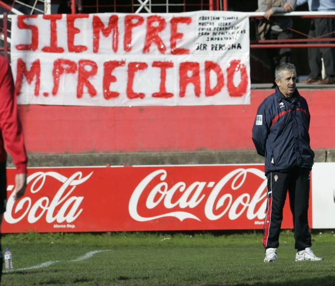 Five years after the loss of Manolo Preciado