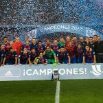 The Barca, King of Supercopa