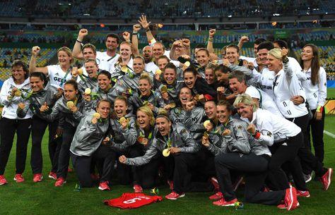 Todas las ganadoras del oro en fútbol femenino en los JJOO