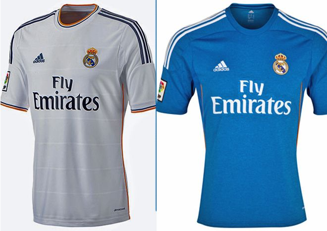 The 2013/14 He brought these shirts for Real Madrid.