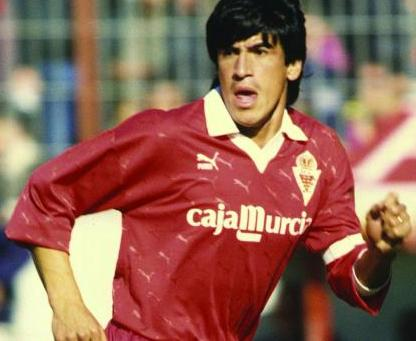 El Toro Aquino during his time in Murcia.