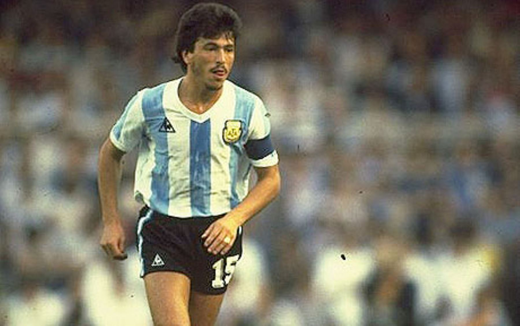 Daniel Pasarella, one of the best defenses Argentine history.