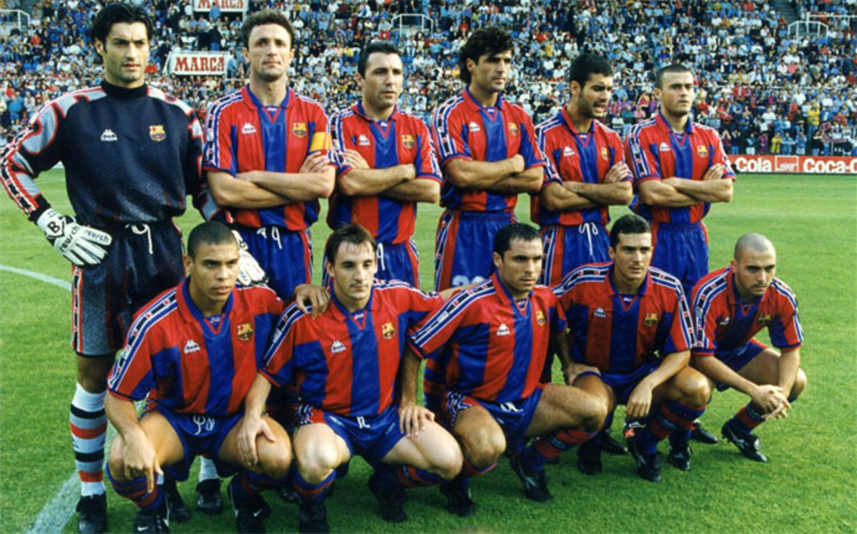 Barcelona this season 1996/97 which he debuted Luis Enrique ago 20 years.