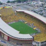 Los cinco estadios más grandes de Ecuador