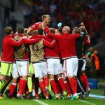 Erfolgreiche Auswahl von Wales, eine Geschichte mit einem Lächeln und Tränen