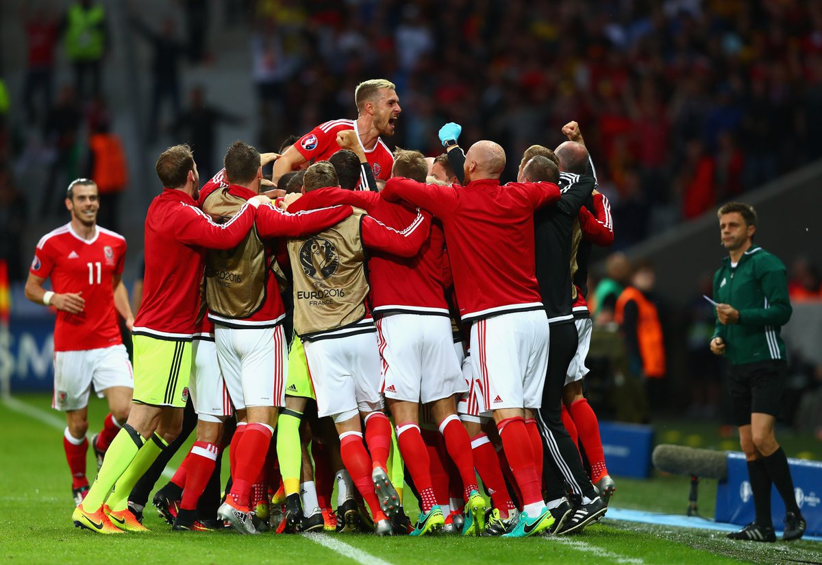Successful selection of Wales, a story with smiles and tears