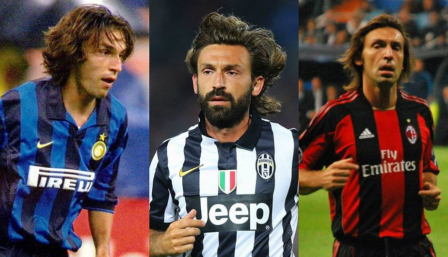 Andrea Pirlo, the most respected football genius
