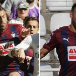 A video of the trio of two players from Eibar with a girl the internet LIA