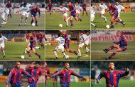 Veinte años de uno de los mejores goles de la historia de la Liga española