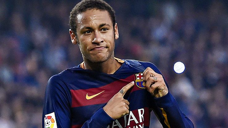 Neymar, hundred games in Barcelona