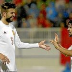 Pique and Spain, a coming relationship unless