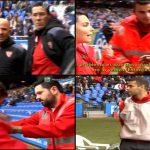 """Mateu Lahoz la """"lía"""" con la Cruz Roja en Riazor"""