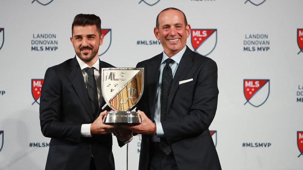 David Villa, el MVP de la MLS con 35 años.