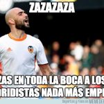 Best memes of the defeat of Real Madrid against Valencia