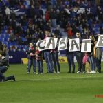 Levante aficionado asks to his girlfriend at halftime of a game