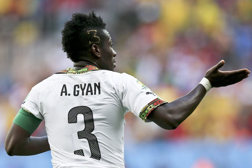 Gyan Asamoah sanctioned by her hair