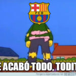 Best memes of eliminating Barcelona from the Champions