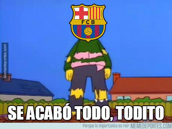 Los mejores memes de la eliminación del Barcelona de la Champions